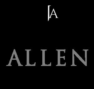 Austin Allen James logo by Gail Gonzales of Evolve Your brand